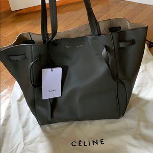 Celine Small Cabas Phantom - Stone color